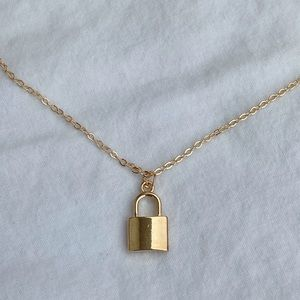 Jewelry - Lock Necklace